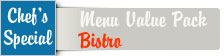 Your preview of Menue Card Bistro Value Pack font