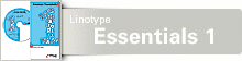 Your preview of Linotype Essentials 1 CD for Mac OS and Windows font