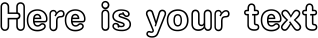 Your preview of C O2 Yuen HKS Simplified Chinese Std XboldOutline font