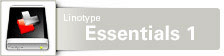 Font Linotype Essentials™ 1 Value Pack