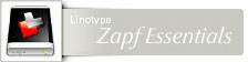 Font Zapf Essentials� Linotype Family Value Pack