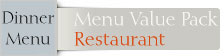 Font Menue Card Restaurant Value Pack