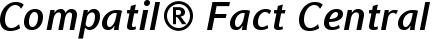 Font Compatil� Fact Central European Bold Italic