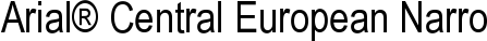 Font Arial� Central European Narrow