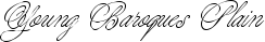 Font Young Baroque™ Plain