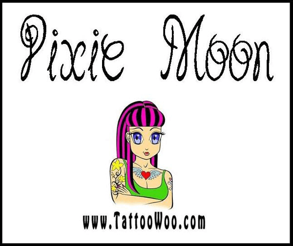 Pixie Moon - Font Illustration