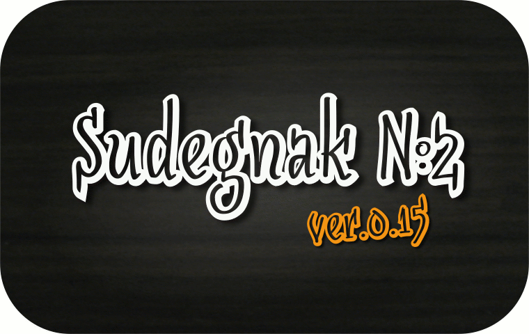 Sudegnak No2 - Font Illustration