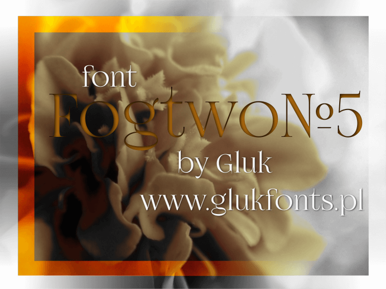 Fogtwo No5 - Font Illustration