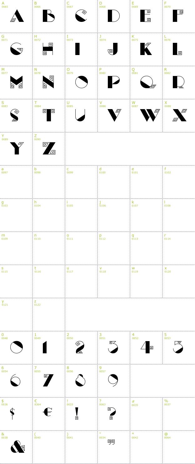 free labyrinth font download