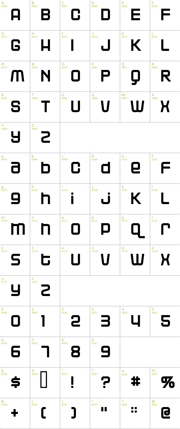 blackjack download font