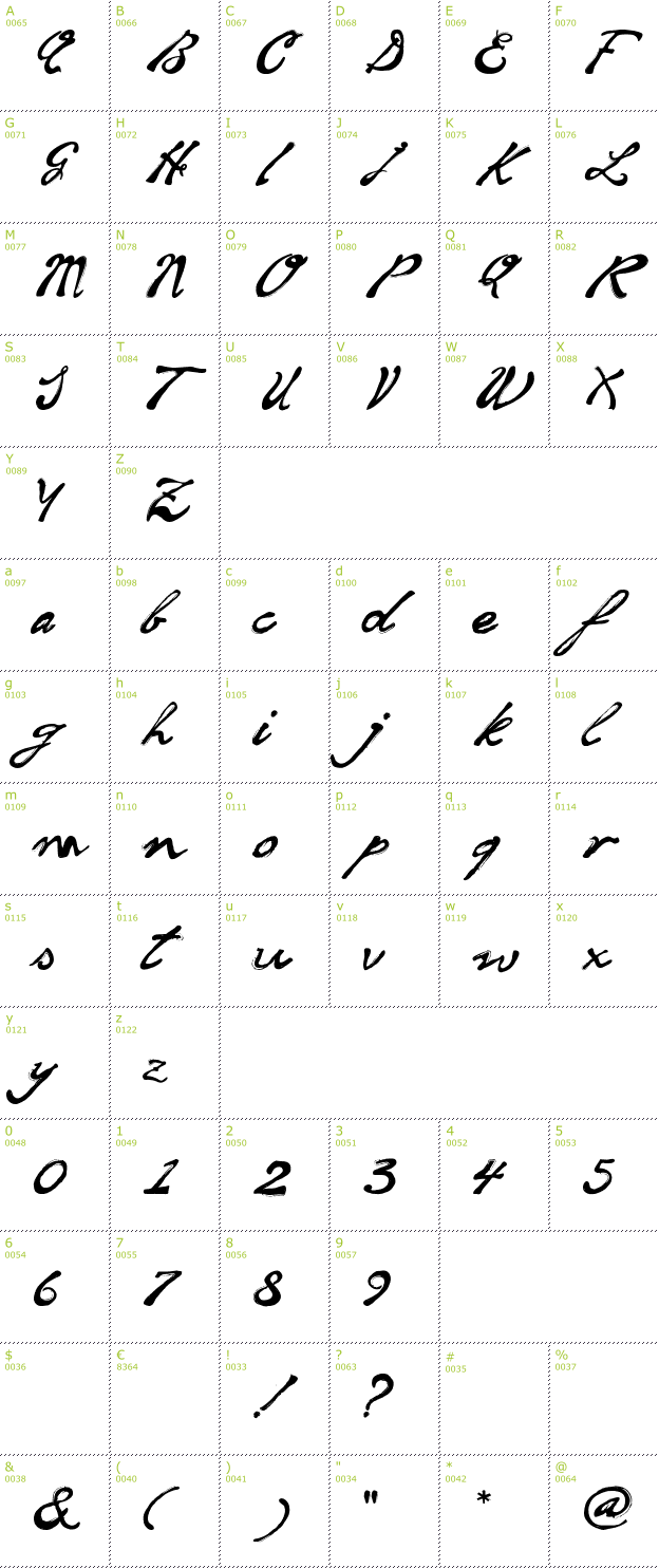 Soul handwriting font info details inclusive preview sler and